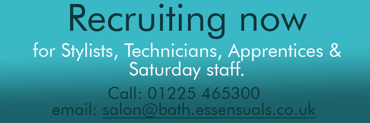 Now recuiting; Stylist Technicians Apprentices Saturday staff.