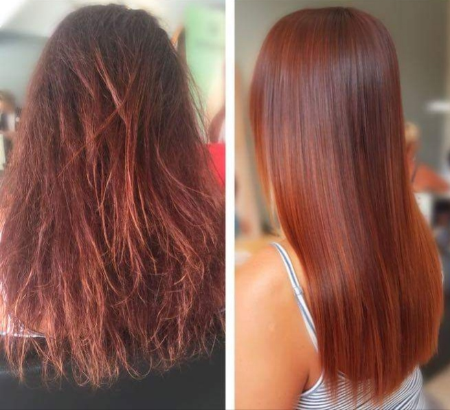 Nano Keratin Hair Treatment