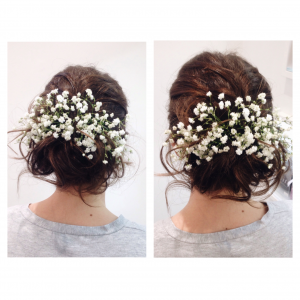 Wedding hair - char p