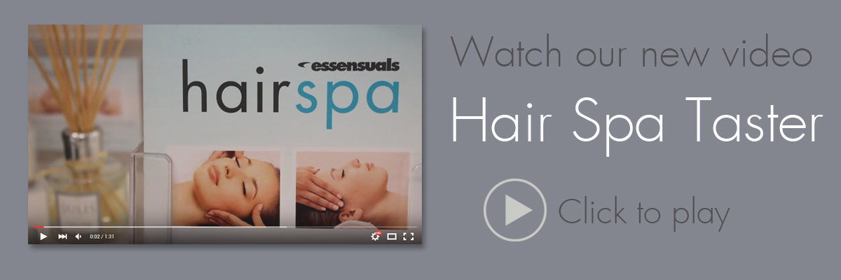 Watch a video of our Hair Spa Taster