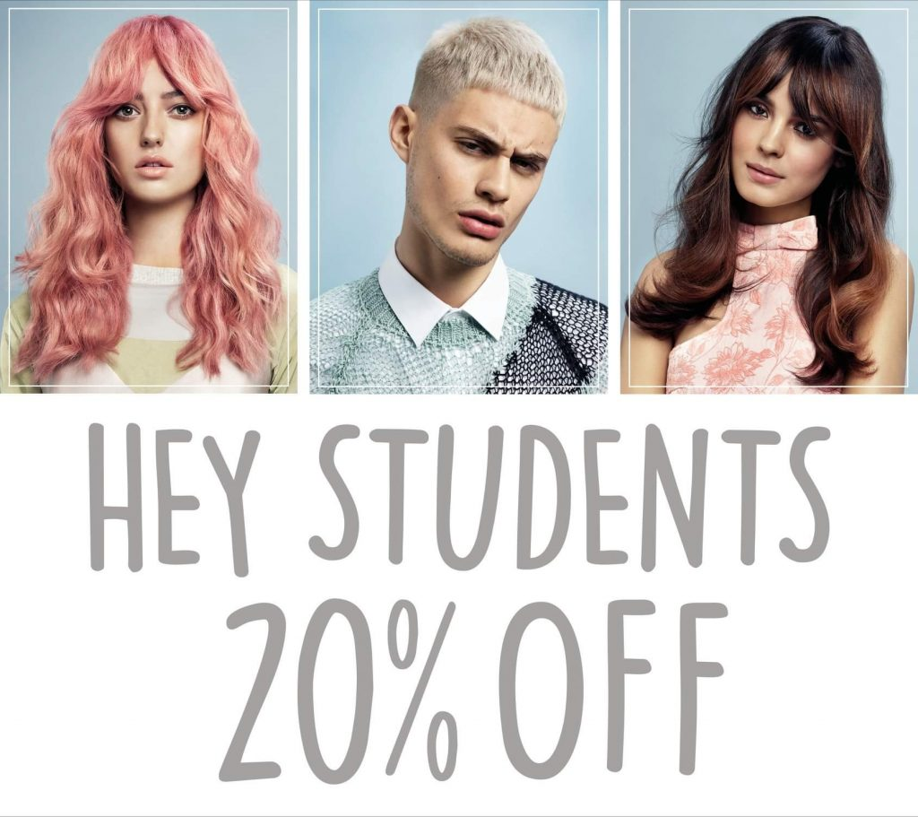 Students 20% OFF!
